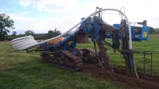 Barth K150 land drainage trenching machine