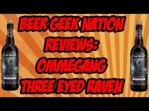 Ommegang Game Of Thrones #5 - Three-Eyed Raven | Beer Geek Nation Craft Beer Reviews