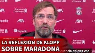 MARADONA | La manera en la que KLOPP y el fútbol podían haberle ayudado | DIARIO AS