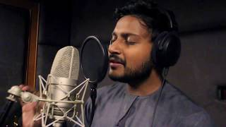 Indian guy singing Arabic Nasheed - هندي ينشد كشوق الليالي