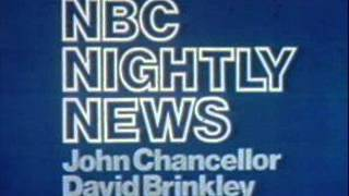 NBC NIGHTLY NEWS (1977-79) - Henry Mancini (original recording)