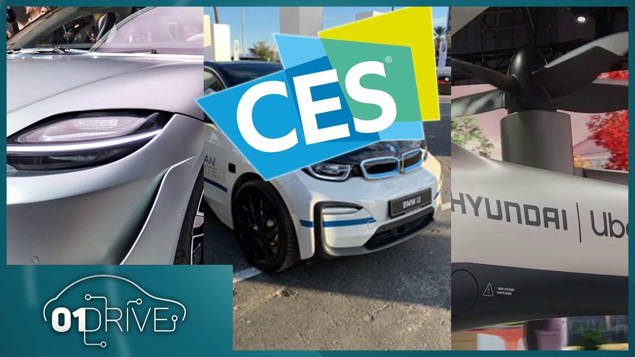 CES 2020 : toutes les nouveautés en matière de mobilité - 01Drive ...