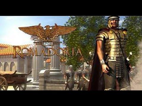 Romadoria (Ромадория):  видео обзор игры о Древнем Риме.