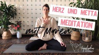 10 Minuten Auszeit | Herz Metta Meditation mit Maren
