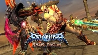 [PSP] Let's Play SoulCalibur : Broken Destiny ► [Kratos]