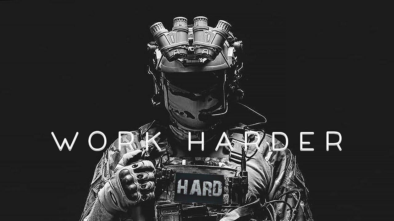 "Military Motivation - ""WORK HARDER"" (2020)"