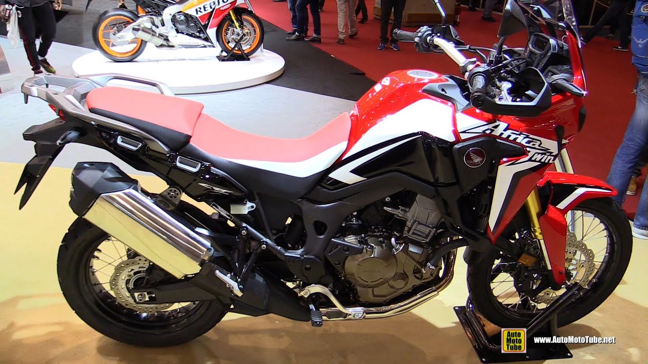 2016 honda africa twin crf1000l walkaround 2015 salon. Black Bedroom Furniture Sets. Home Design Ideas