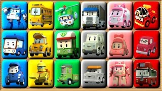vuclip Robocar Poli Learn Colors Video for Kids - Puzzle Games