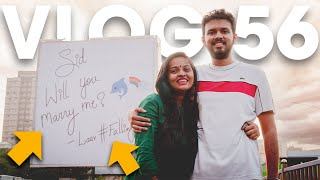 SHE PROPOSED TO HIM ON A BILLBOARD!!! - Vlog 56