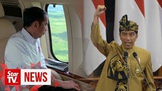 President Joko proposes moving Indonesia's capital to Borneo