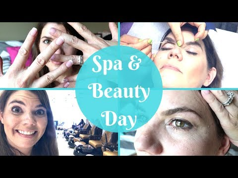 SELF CARE BEAUTY ROUTINE // PAMPER SPA DAY // STAY AT HOME MOM