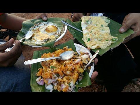 Kerala Street Food Thattukada Food|Kappa Motta|Double Bullseye|Indian Street Food