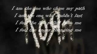 KoЯn-Did My Time (with lyrics)