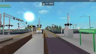 Honda Road Station Railroad Crossing ROBLOX
