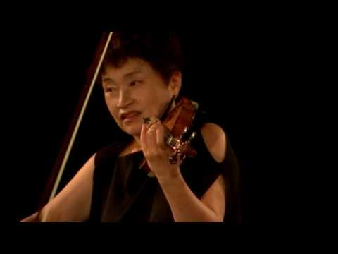 Kyung Wha Chung plays Debussy La Fille Aux Cheveux De Lin