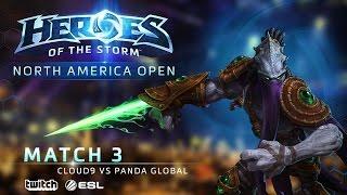 Cloud9 vs Panda Global - North America August Open - Match 3 | Upper Bracket Finals