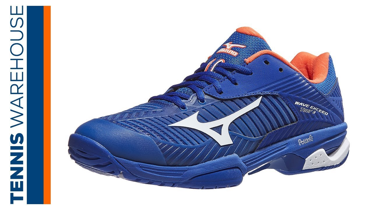 ed30b817af87 Mizuno Wave Exceed Tour 3 Men's Tennis Shoe Review - YouTube