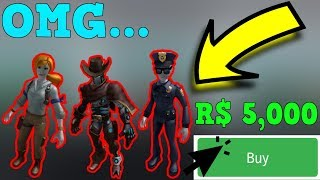 BUYING ALL THE *RTHRO* ROBLOX BODIES!
