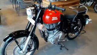 Royal Enfield Classic 350 Black & Red 2017. What's new?Ride safe check link