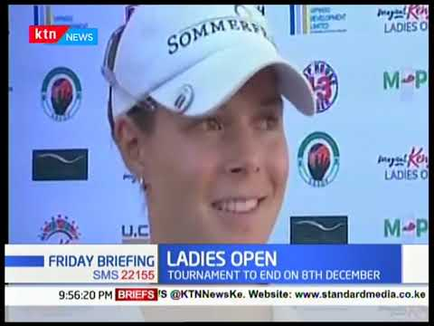 Ladies Open: Magical Kenya Ladies open enters day 2, tournament to end on 8TH December