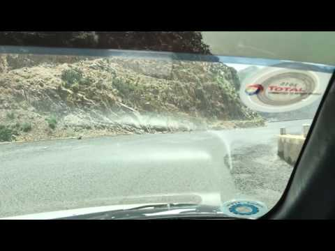 ERITREA ROAD TO MASSAWA FROM ASMARA PART1