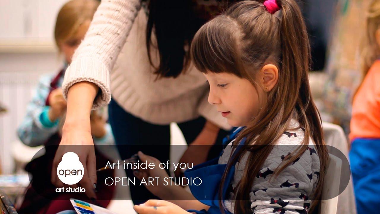 Art inside of you - Open Art Studio