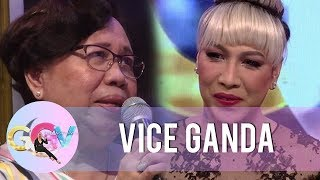 Nanay Rosario reads her touching letter for Vice Ganda | GGV