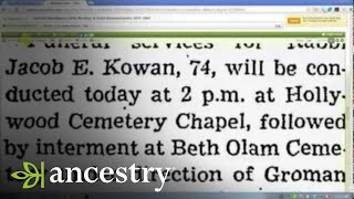 Alternatives to Death Certificates in Genealogy