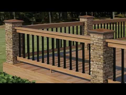 Deck Railing Ideas Diy (see description)