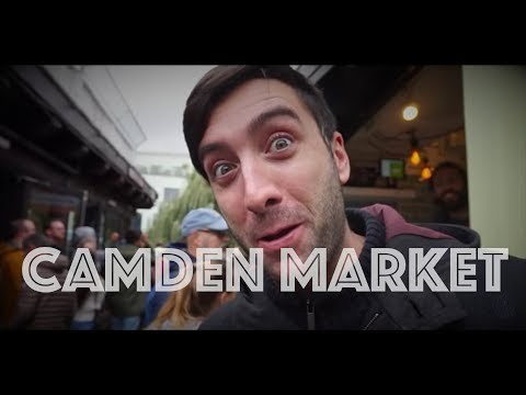 CAMDEN TOWN. LONDON'S STREET FOOD AND STREET ART.