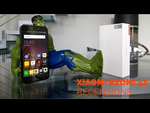 1b549498fb Xiaomi Redmi 4X Global Version Recensione