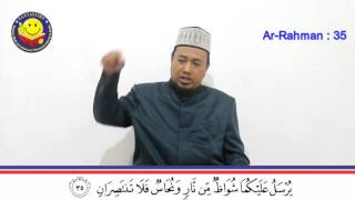 Surat Ar Rahman Ayat 35