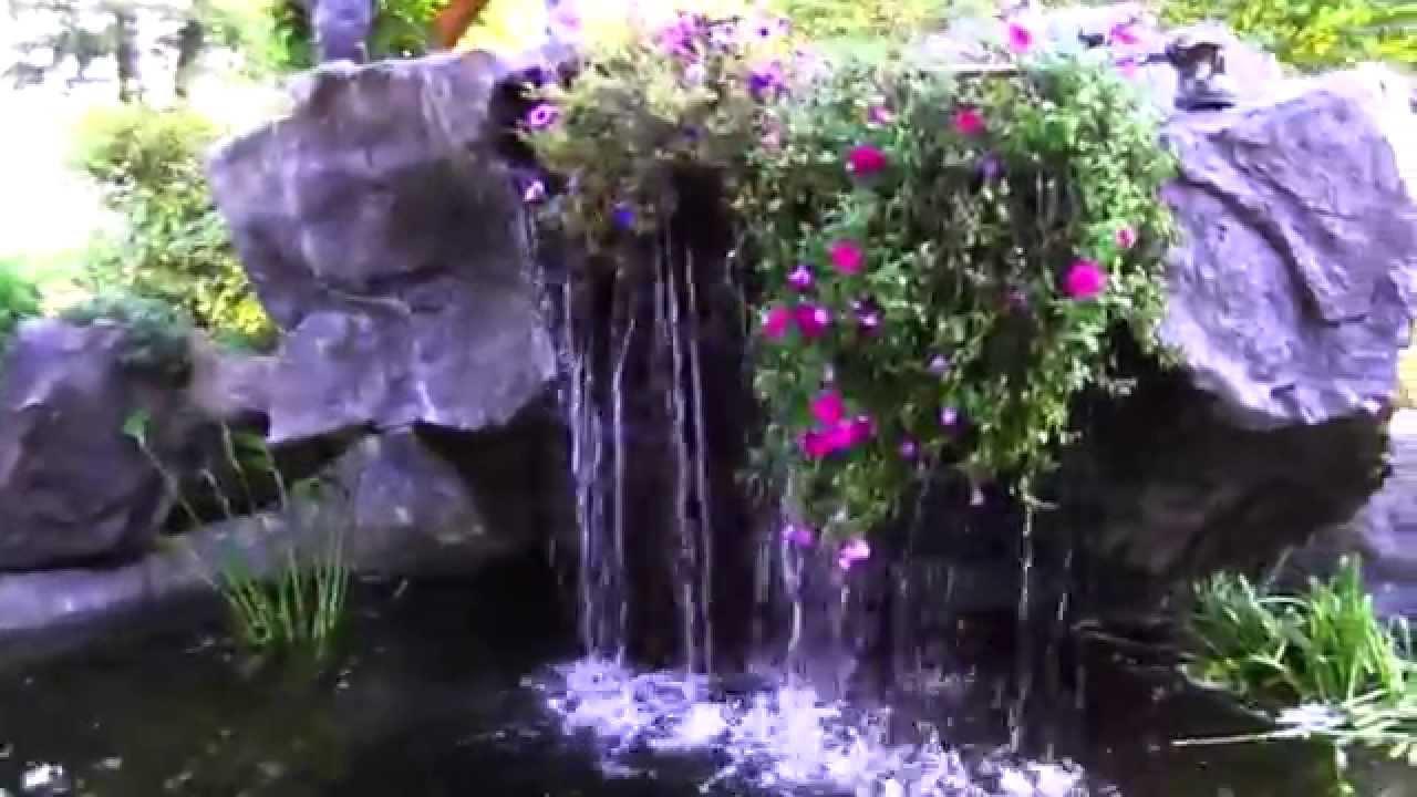 Backyard Koi Pond Design Ideas By ClifRock - YouTube on Koi Ponds Ideas  id=43275