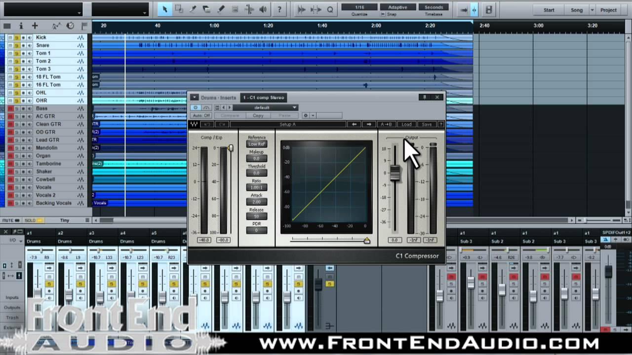 mastering presonus studio one pro