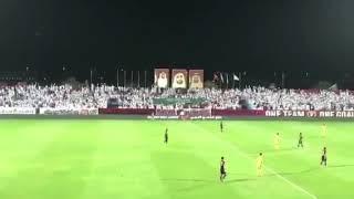 بالفيديو: جماهير الوحدة الإماراتي تردد «عاش سلمان»