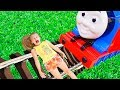 INDOOR PLAYGROUND ACCIDENT! Play Area for kids, Train Toys Baby Songs Nursery Rhyme for Children