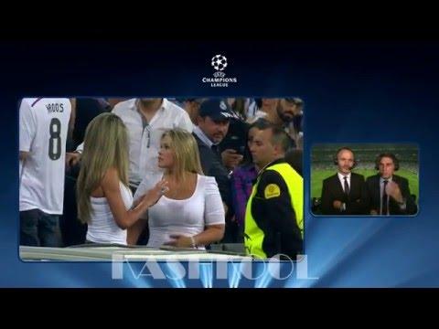 Santiago Bernabeu Real Madrid girls!