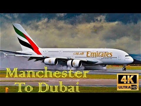 Full Trip Report| Emirates Airbus A380, MAN To DXB, November 2019 In 4K