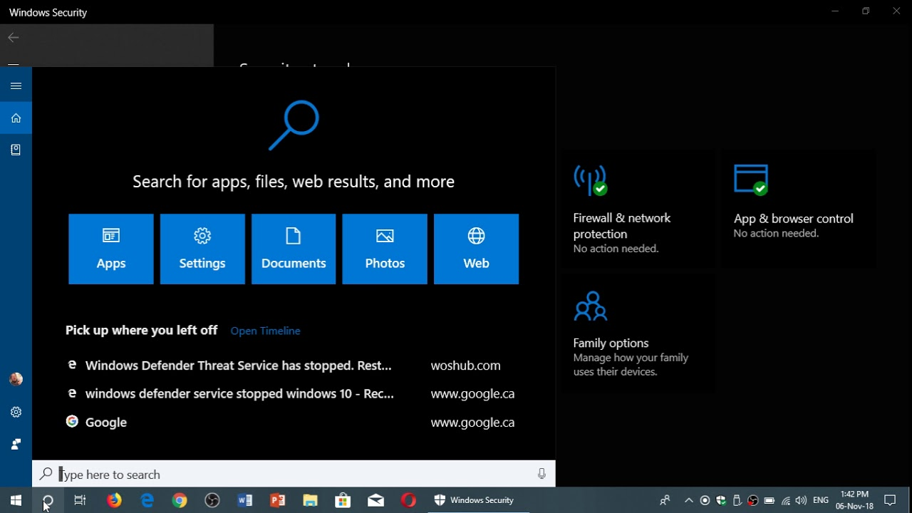 Windows 10 How To Fix Broken Defender Security Threat Service That Stopped You