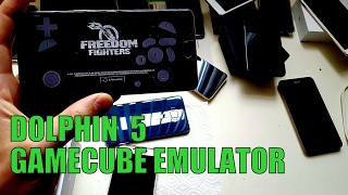 Playing Freedom Fighters on Android smartphone/Dolphin emulator/Gamecube games(OnePlus 3t)