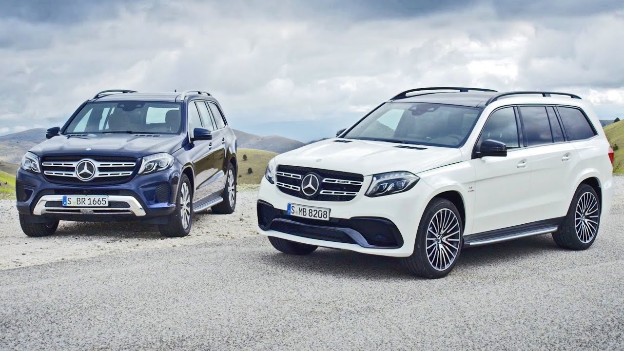 New 2016 Mercedes Benz Gls World Premiere