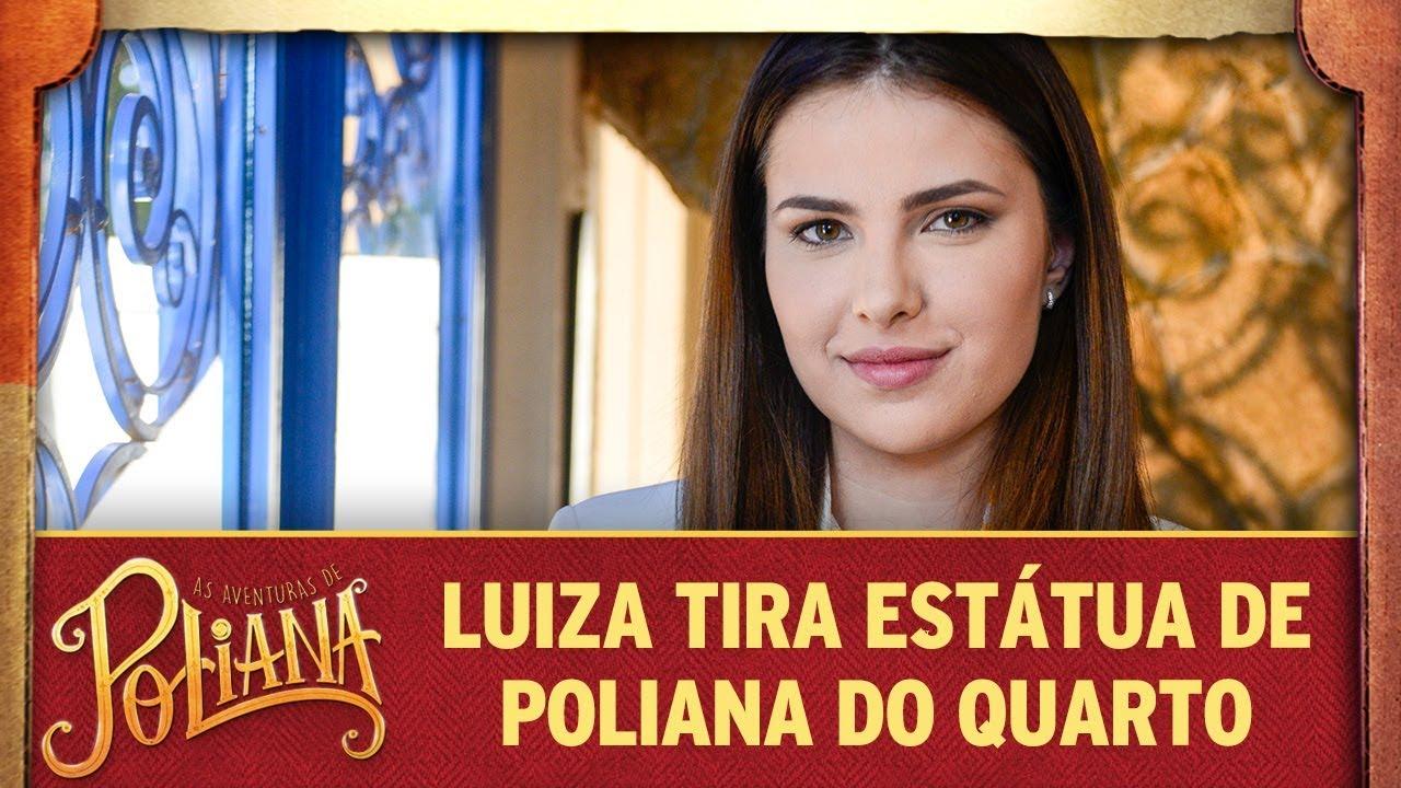 Luiza tira estátua de Poliana do quarto | As Aventuras de Poliana