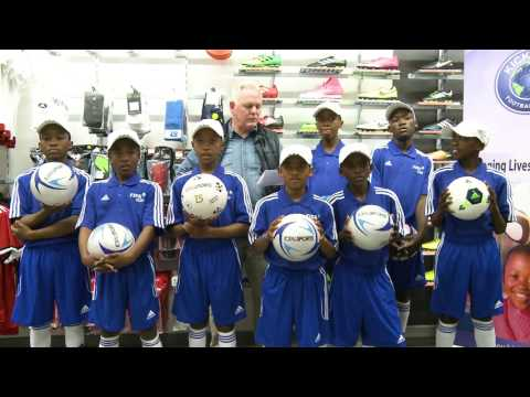 Kick4Life ACADEMY sponsorship from TOTAL SPORTS