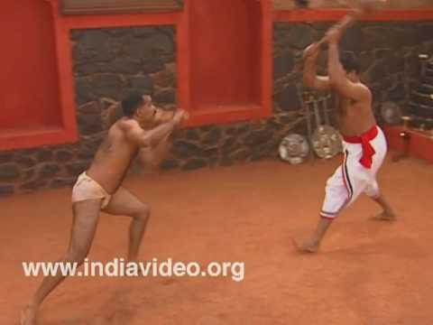 Use of mace in Kalaripayattu