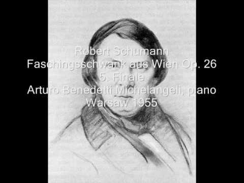 Michelangeli play Schumann Op. 26 (3/3) (1955)