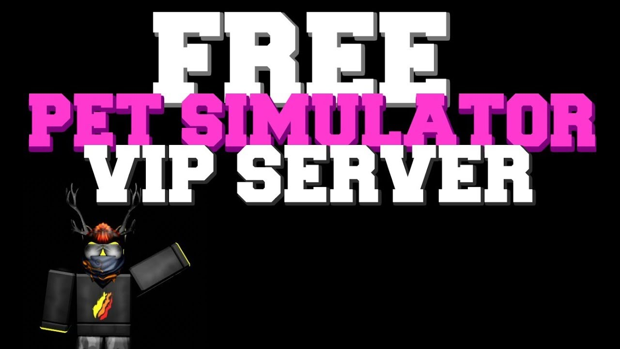 How To Get A Free Pet Simulator Vip Server Cancelled Youtube