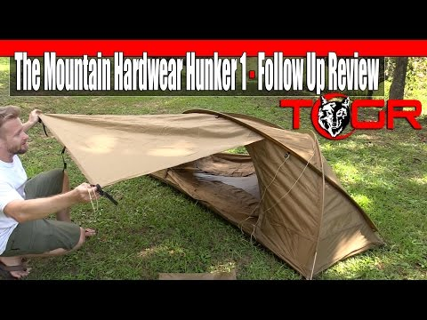 Expensive Military Tent - The Mountain Hardwear Hunker 1 - Follow Up Review