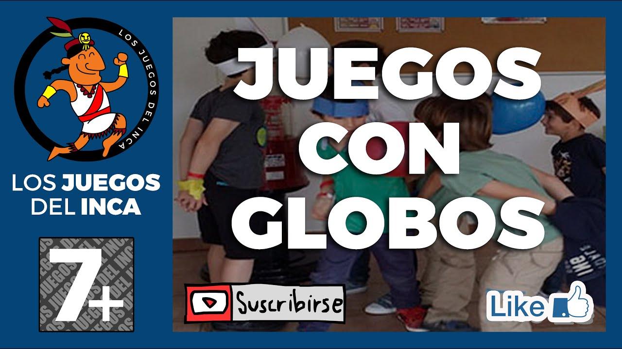 TOP 15 JUEGOS CON GLOBOS, MAS DIVERTIDOS PARA NIÑOS - YouTube