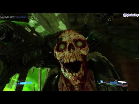 The Centered Weapon Setup In Doom 2016
