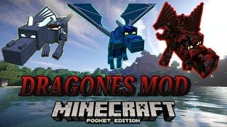 Dragones y mas espadas mod (para Minecraft Pe 0.14.0 - 0.14.1)